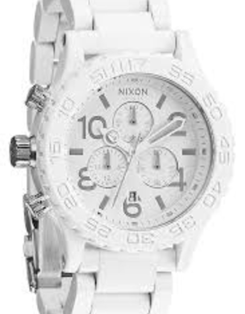 42-20 CHRONO ALL WHITE/SILVER