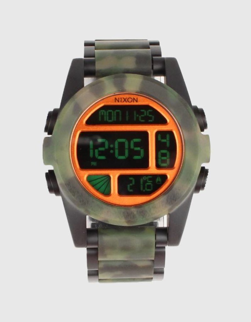 com polished chrono gun lum nixon watches gunmetal