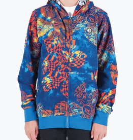 VOLCOM CHARGERNIZED FULLZIP RAD RED