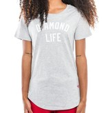 DIAMOND LIFE SCALLOP TEE