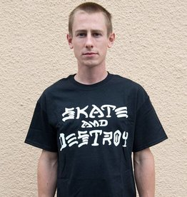 THRASHER MAGAZINE THR T-SHIRT SKATE AND DESTROY