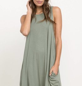 RVCA SUCKER PUNCH 2 SWING DRESS WED15SUC