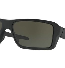 OAKLEY Double Edge Matte Black w/ Dark Grey
