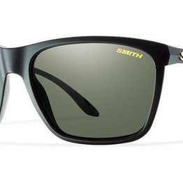 SMITH OPTICS DELANO MATTE BLACK POLARIZED GRAY GREEN