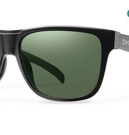 LOWDOWN MATTE BLACK POLARIZED GRAY GREEN