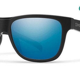 SMITH OPTICS LOWDOWN SLIM SALTY CREW MATTE BLACK POLARIZED BLUE MIRROR