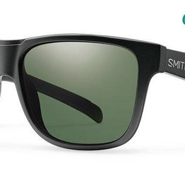 SMITH OPTICS LOWDOWN XL MATTE BLACK POLARIZED GRAY GREEN