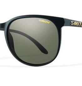 SMITH OPTICS MT SHASTA MAT BLK/PLR GRY GRN