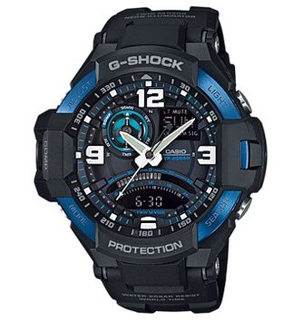 GSHOCK WATCHES GS-GA1000-2B AVIATION TWIN SENSOR