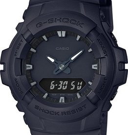 GSHOCK WATCHES GS-G100BB-1A BLACK OUT TACTICAL SERIES BLK
