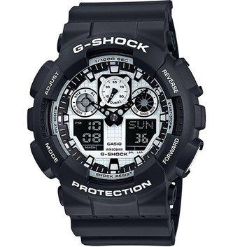 GSHOCK WATCHES GS-GA100BW-1A ga100 blk/wht