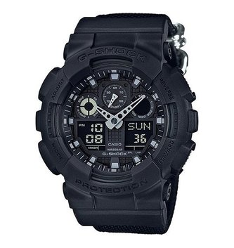 GSHOCK WATCHES GS-GA100BBN-1A  BLACK ON BLACK