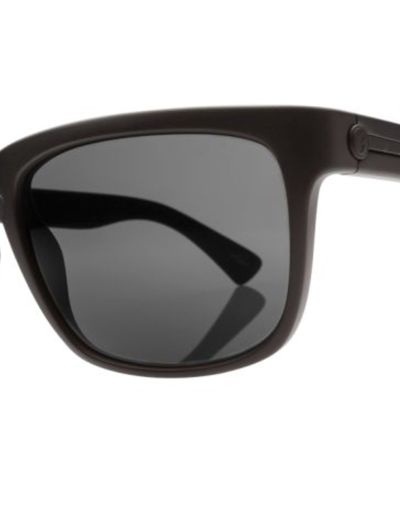 ELECTRIC KNOXVILLE MATTE BLACK/OHM POLARIZED GREY