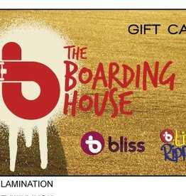 THE BOARDING HOUSE GIFT CERTIFICATE $50