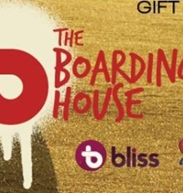 THE BOARDING HOUSE $25 GIFT  CARD