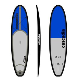 CASCADIA SUP XR-4 SUP BOARD PKG C/W PADDLE 12'