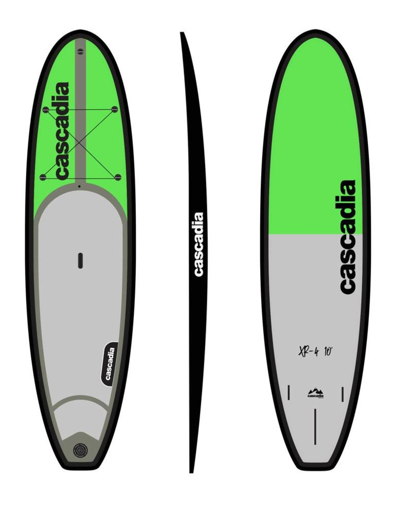 CASCADIA SUP XR-4 SUP BOARD PKG C/W PADDLE 10