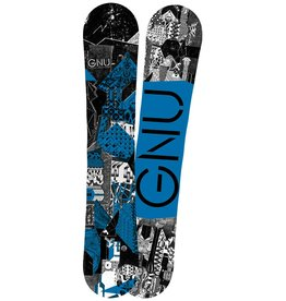 GNU SNOWBOARDS 2017 CARBON CREDIT BTX YOUTH