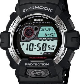GSHOCK WATCHES TOUGH SOLAR DIGITAL BLACK SILVER GS-GR8900-1