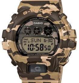 GSHOCK WATCHES S-SERIES DIGITAL GREEN CAMO GS-GMDS6900CF-3