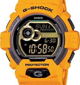 GSHOCK WATCHES G-LIDE YELLOW GS-GLS8900-9