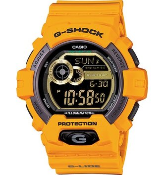 GSHOCK WATCHES G-LIDE YELLOW GS-GLS8900-9