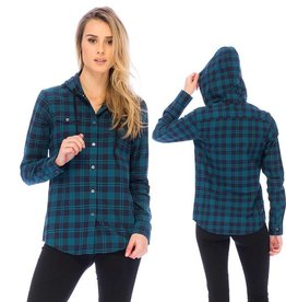 Red Dragon Supply RDS WOMENS L/S BUTTON UP
