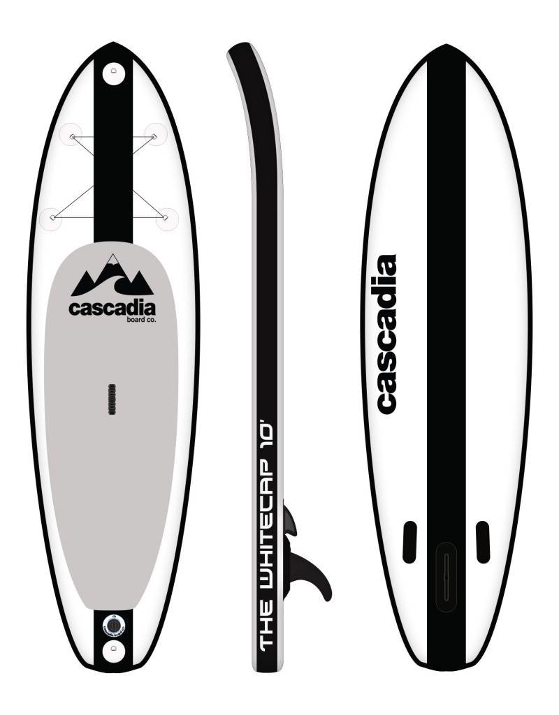 CASCADIA SUP WHITECAP 10' INFLATEABLE SUP