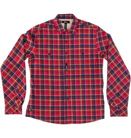 Red Dragon Supply RDS L/S BUTTON UP CHECKED