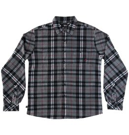 Red Dragon Supply RDS L/S BUTTON-UP GRID