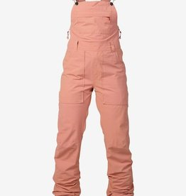 BURTON SNOWBOARDS WB AVALON BIB PT DUSTY ROSE WASHED (M)