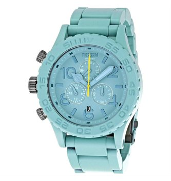 NIXON WATCHES 42-20 CHRONO: SEAFOAM ONESIZEFIT