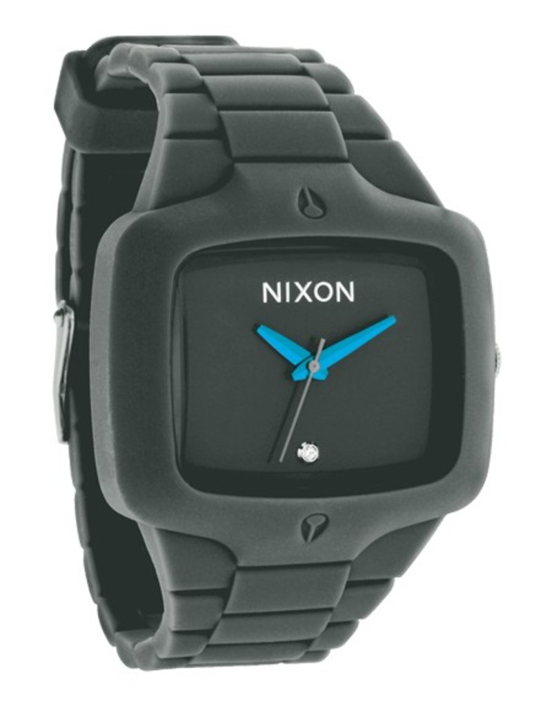 NIXON WATCHES RUBBER PLAYER:DRAB