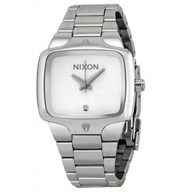 NIXON WATCHES PLAYER: SILVER