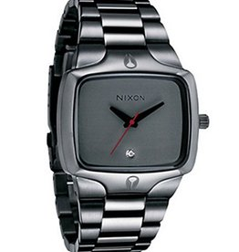NIXON WATCHES PLAYER:GUNMETAL