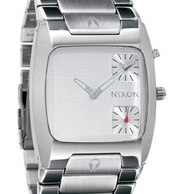 NIXON WATCHES BANKS:SILVER