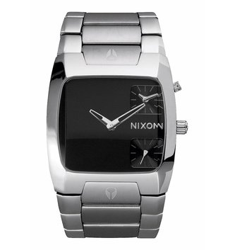 NIXON WATCHES BANKS BLACK