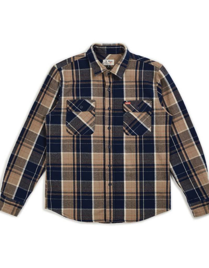 BRIXTON BOWERY COORS L/S FLANNEL
