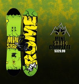ROME SNOWBOARDS 2018 MINI SHRED PACKAGE
