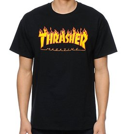 THRASHER MAGAZINE FLAME TEE