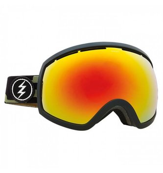 ELECTRIC EG3 GOGGLE: CAMO+BL BROSE/RED CHROME