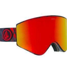 ELECTRIC EG3 GOGGLE: ELECTRICX VOLCOM BROSE/RED CHROME