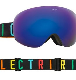 ELECTRIC EG2 GOGGLE: COLOR WORDKMARK BROSE/BLUE CHROME