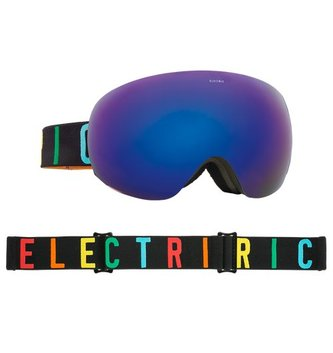 ELECTRIC EG2 GOGGLE: COLOR WORDKMARK BROSE/BLUE CHROME