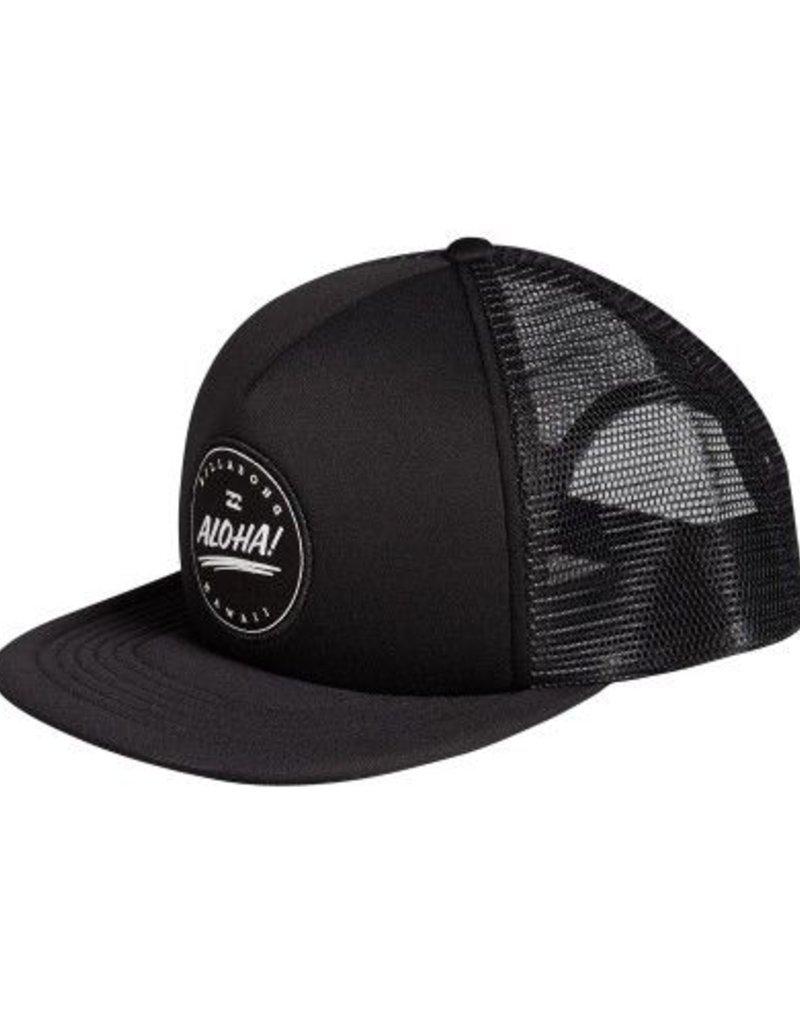 BILLABONG ALOHA TRUCKER BLACK CAP