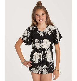 BILLABONG NIGHT FLOWER GIRLS ROMPER