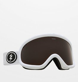 ELECTRIC CHARGER GOGGLE: GLOSS WHITE BROSE