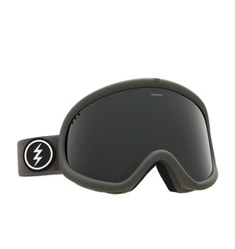 ELECTRIC CHARGER GOGGLE: XL GREY/RED JET BLACK