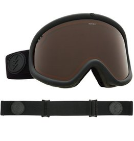 ELECTRIC CHARGER GOGGLE: XL MATTE BLACK BROSE