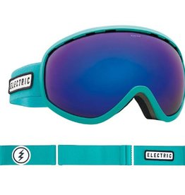 ELECTRIC MASHER GOGGLE: TURQUOISE BROSE/BLUE CHROME